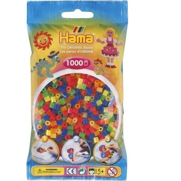 1.000'lik Hama Midi Boncuk - Neon Renkler