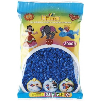 3.000'lik Hama Midi Boncuk - Açık Mavi