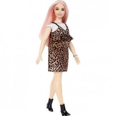 Barbie Fashionistas Büyüleyici Parti Bebekleri Leopar Desen Elbiseli