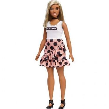 Barbie Fashionistas Büyüleyici Parti Bebekleri Puantiyeli Etek