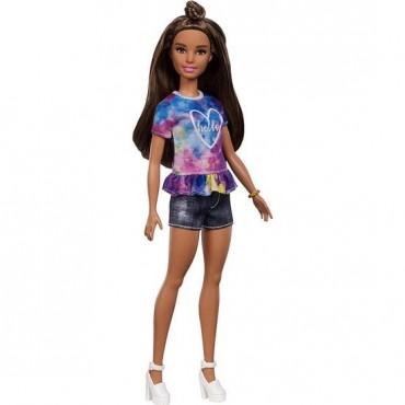 Barbie Fashionistas Büyüleyici Parti Bebekleri Hello Kot Şortlu