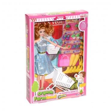 Barbie Organic Farm Oyun Seti