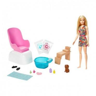 Barbie Sağlıklı Tırnak Bakım Oyun Seti