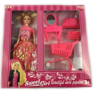 Barbie Oyuncak Sweet Girl Oyun Seti