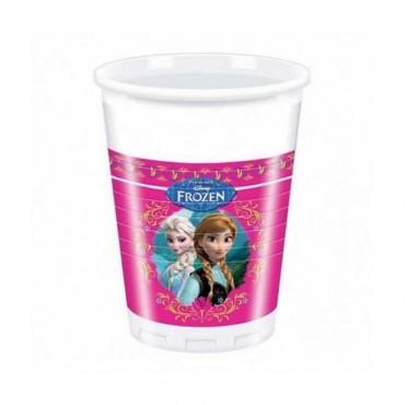 Doğum Günü Frozen Lisanslı Plastik Bardak 8 li