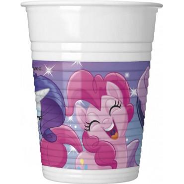 Doğum Günü Pony Lisanslı Bardak 8 li