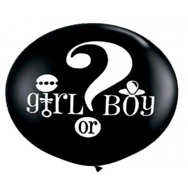 "Cinsiyet Belirleme Partisi Balon 27"""