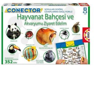 Educa Oyun Connector Hayvanat Bahçesi Ve Akvaryumu Ziyaret Edelim