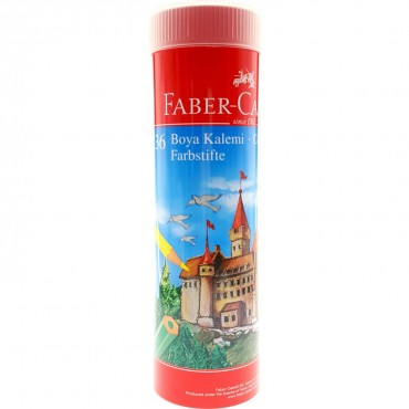 Faber Kuru Boya 36 Renk Metal Tüpte