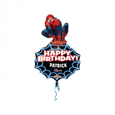 SpiderMan SuperShape Folyo Balon 83cm