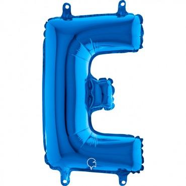 Folyo Harf Balon E Mavi  14 İnç 35  Cm