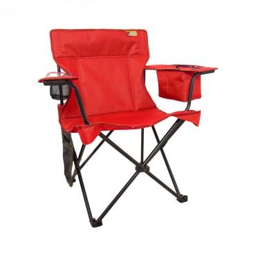 Funky Chaırs Cool Ice Kırmızı Lüks Kamp Sandalyesi
