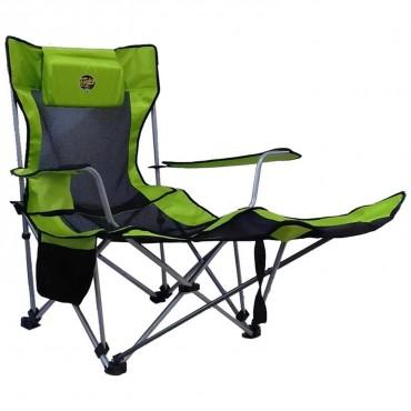Funky Chairs Lazy 3 Posizyonlu Yatabilen Kamp Yeşil
