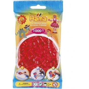 Hama Midi Boncuk 1.000'lik - Kırmızı