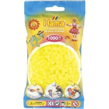 Hama Midi Boncuk 1.000'lik - Neon Sarı