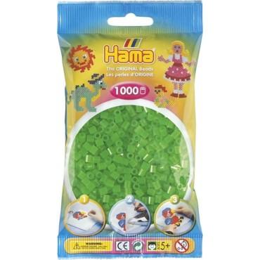 Hama Midi Boncuk 1.000'lik - Neon Yeşil
