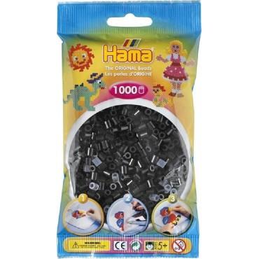 Hama Midi Boncuk 1.000'lik - Siyah