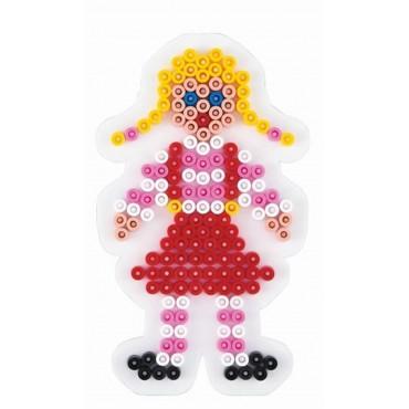 Hama Midi Boncuk Tablası Kız Çocuğu