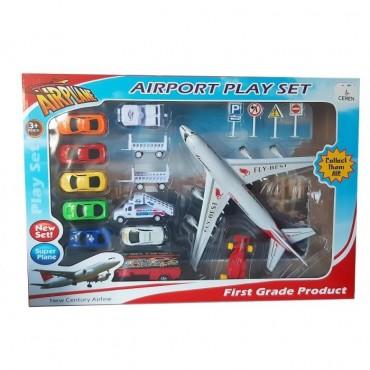 Havaalanı Oyun Seti Büyük Kutulu