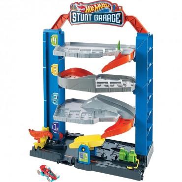 Hot Wheels Mini Garaj Oyun Seti Stunt Garage