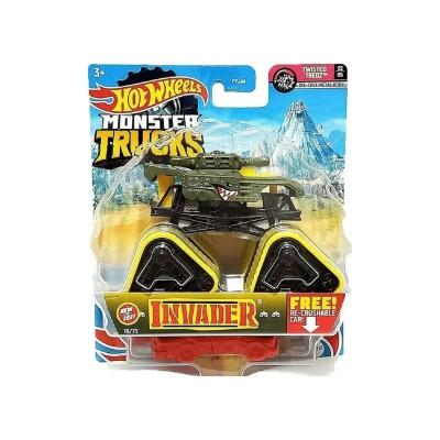 Hot Wheels Monster Trucks 1:64 Arabalar Invader GTH73