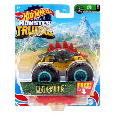 Hot Wheels Monster Trucks 1:64 Arabalar Motosaurus
