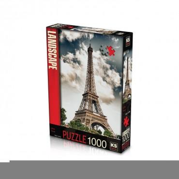 Ks Puzzle 1000 Parça Eiffel Tower Paris