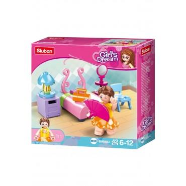 Sluban Lego 42 Parça Girls Dream Yatak Odası