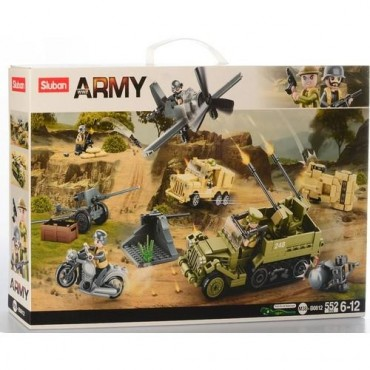 Sluban Lego 552 Parça Büyük Savaş Seti