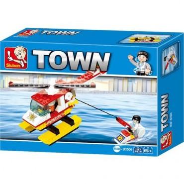 Lego 80 Parça Küçük İtfaiye Helikopteri