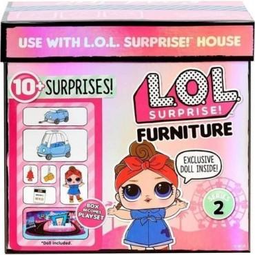 Lol Bebekler Ve Mobilya Oyun Seti Yol Gezisi