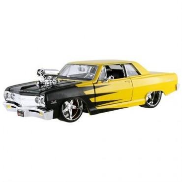 Maisto 1:24 1965 Chevrolet Malibu Model Araç Sarı