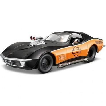 Maisto 1:24 1970 Corvette Model Arac