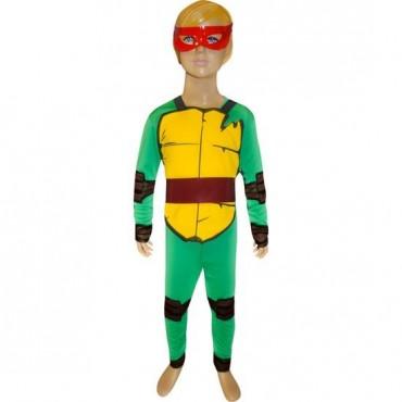 Ninja Kaplumbağalar Raphael Kostüm 10-12 Yaş
