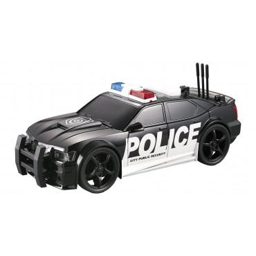 Nitro Speed Polis Arabası 1:20 Sesli Işıklı Siyah