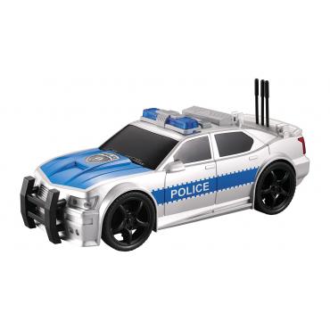 Nitro Speed Polis Arabası 1:20 Sesli Işıklı Gri