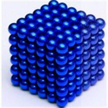 Nts Renkli Manyetik Mıknatıs Toplar 5Mm 432 Adet Mavi