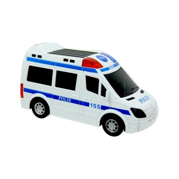 Oyuncak Polis Arabası Sesli Işıklı