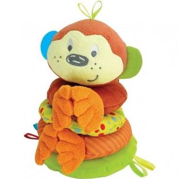 Oyuncak Peluş Kat Kat Sevimli Maymun