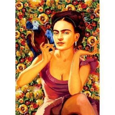 Perre Puzzle 1000 Parça Frida Kahlo