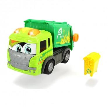 Simba Dickie Happy Scania Garbage Truck