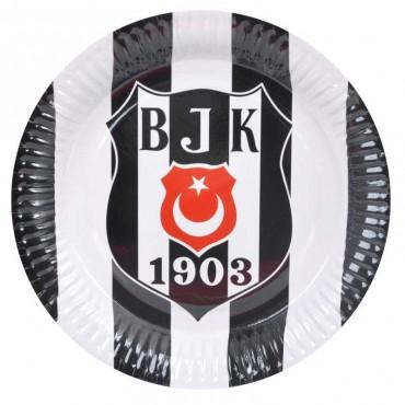 Doğum Günü Beşiktaş Lisanslı Tabak 8 li