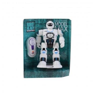 Mega Uzaktan Kumandalı Şarkı Söyleyen Yürüyen Çok Fonksiyonlu Oyuncak Robot 20 cm