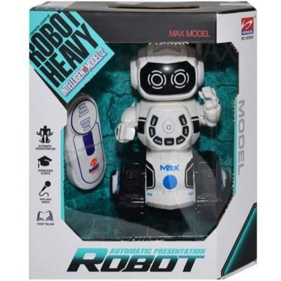 Uzaktan Kumandalı Şarkı Söyleyen Yürüyen Çok Fonksiyonlu Oyuncak Robot 15 cm